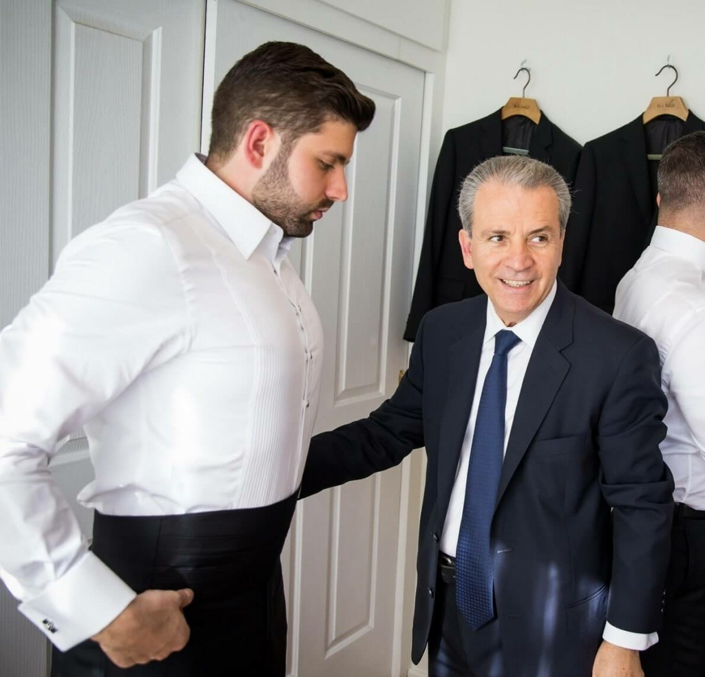 Anwar Salman Stitch co bespoke suits Master Tailor